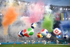Опера, графика, легенды. В Риме состоялась церемония открытия чемпионата Европы
