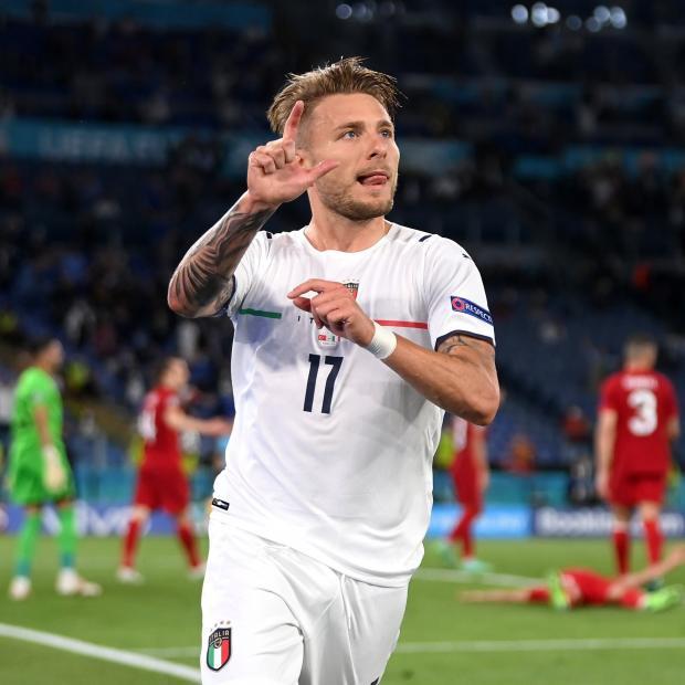 Иммобиле увеличил преимущество Италии в стартовом матче Евро против Турции