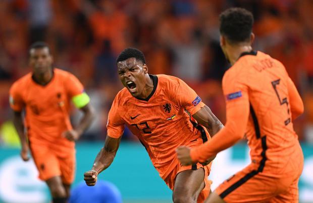 Сборная Нидерландов победила Украину в матче Евро-2020