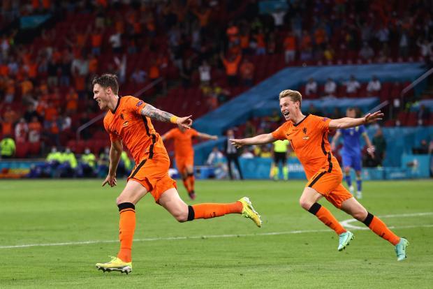 Вегорст увеличил преимущество Нидерландов в игре Евро-2020 с Украиной