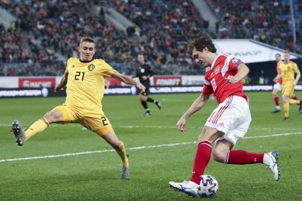 Жирков из-за травмы, полученной в матче с Бельгией, больше не сыграет на Евро-2020