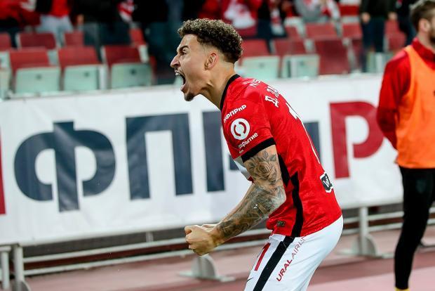 Ларссон признан игроком сезона в «Спартаке»