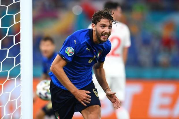 Локателли открыл счет в матче Италии против Швейцарии на Евро-2020