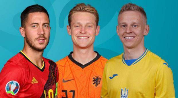 Сегодня на Евро: Украина – Македония, Дания – Бельгия, Нидерланды - Австрия