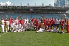 В Химках прошел футбольный матч, посвященный Дню России