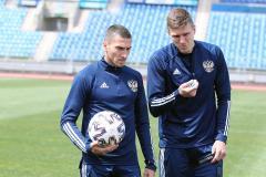 Александр Соболев: Мы все верим, что матч с Данией будет для нас не последним на Евро