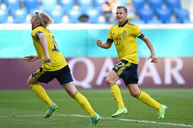 Швеция - Словакия: Форсберг реализовал пенальти во втором тайме