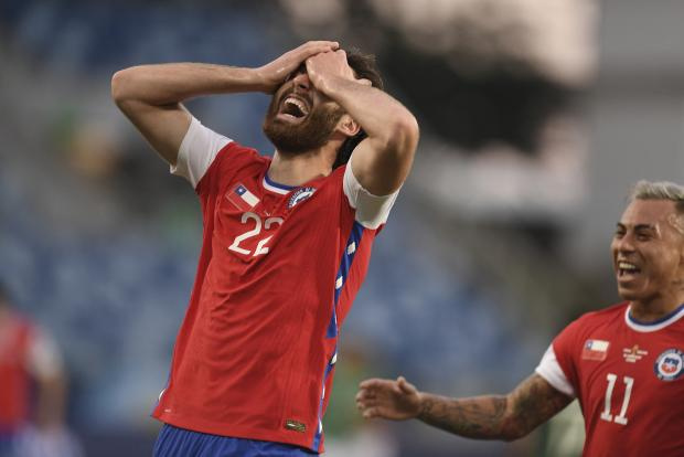Сборная Чили выиграла у Боливии на Кубке Америки