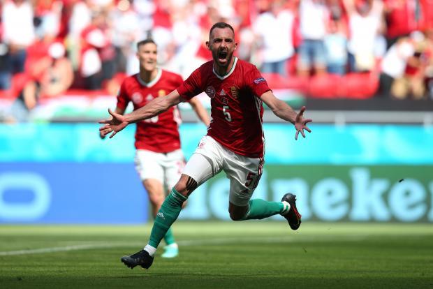 Евро-2020. Фиола вывел вперед Венгрию в матче с Францией