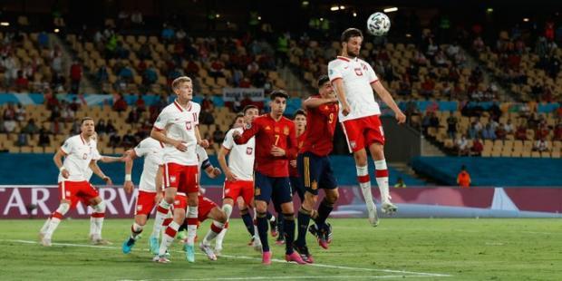 Евро-2020. Испания сыграла вничью с Польшей
