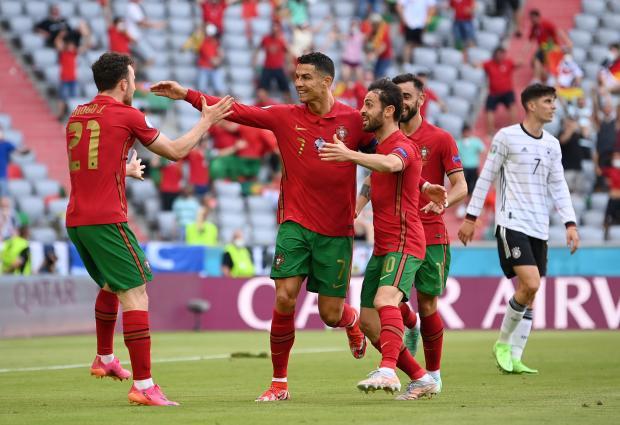 Евро-2020. Роналду открыл счет в матче Португалии с Германией