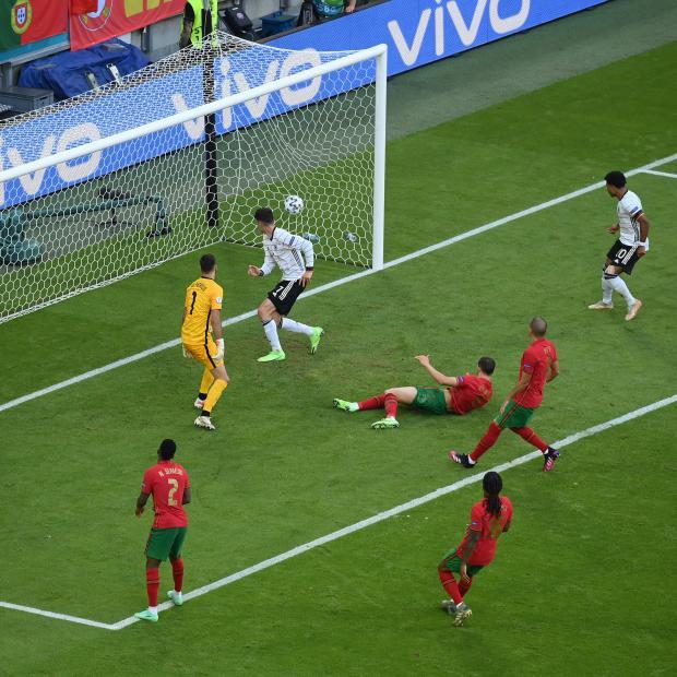 Евро-2020. Хаверц увеличил преимущество Германии в матче с Португалией