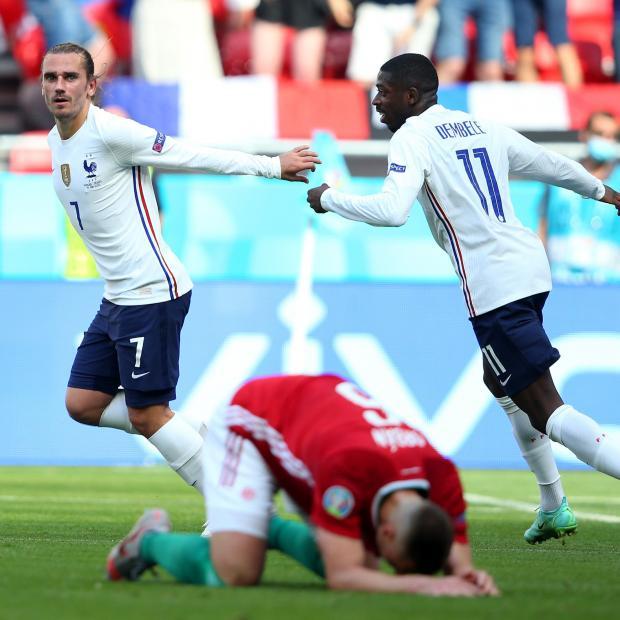 Евро-2020. Гризманн сравнял счет в матче Венгрия - Франция