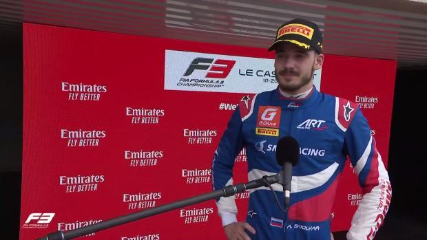 Смоляр выиграл первую гонку Гран-при Франции «Формулы-3»