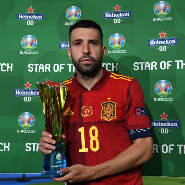 Альба признан звездой матча Испания - Польша