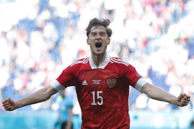 Алексей Миранчук вошел в список претендентов на звание лучшего автора гола второго тура Евро-2020