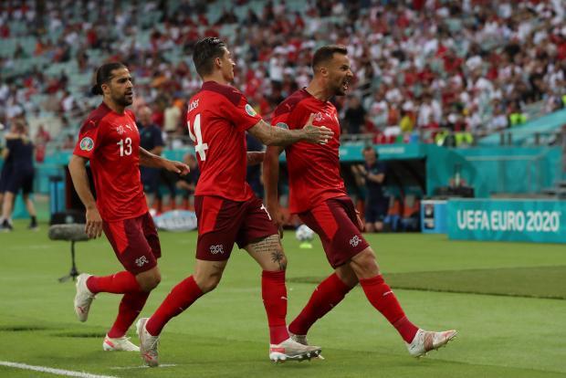 Евро-2020. Сеферович вывел Швейцарию вперед в матче с Турцией
