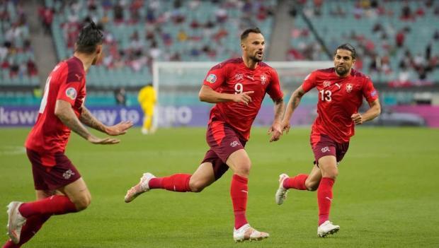 Евро-2020. Шакири удвоил преимущество Швейцарии
