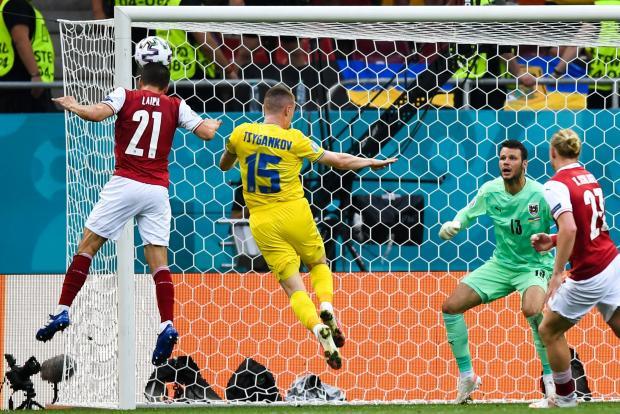 Евро-2020. Украина проиграла Австрии и заняла третье место в группе C