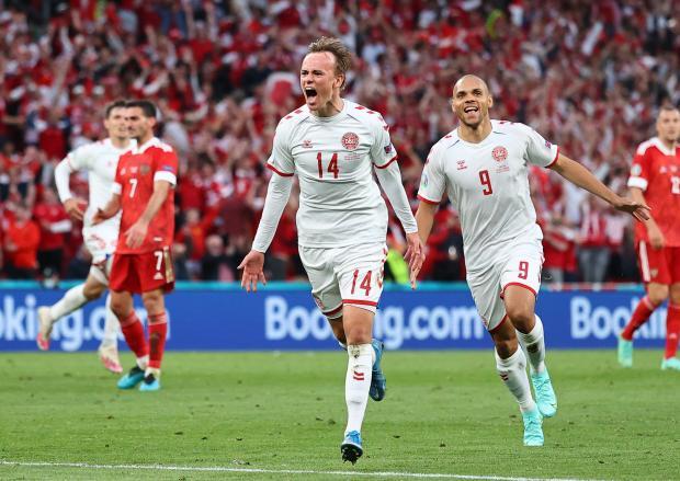 Сборная России проиграла Дании и вылетела с Евро-2020