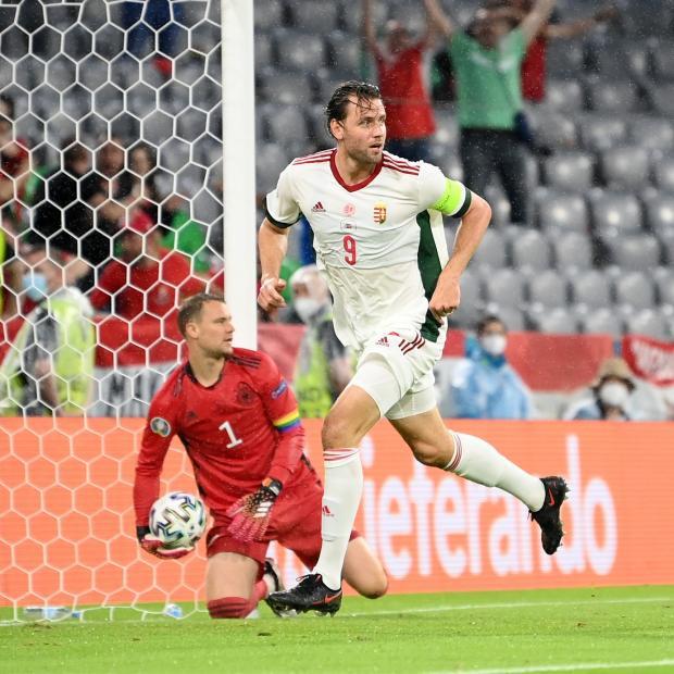 Евро-2020. Германия проигрывает Венгрии после первого тайма, Португалия играет вничью с Францией