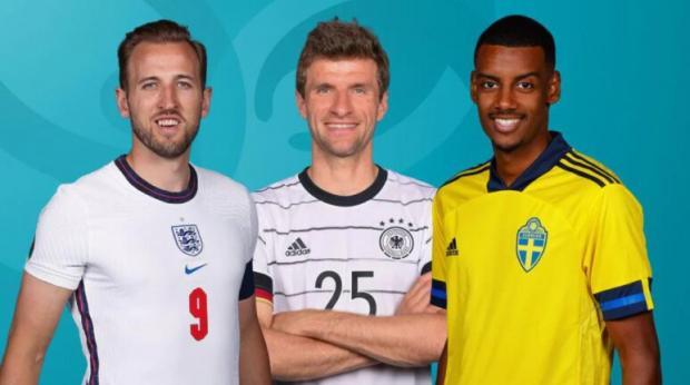 Сегодня на Евро: Англия – Германия и Швеция - Украина