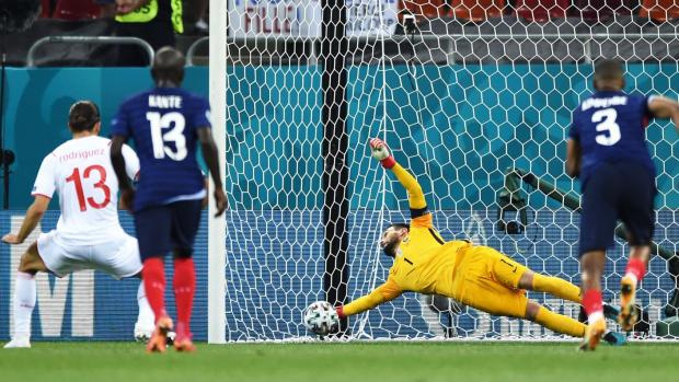 Евро-2020. Швейцария в серии пенальти обыграла Францию и сыграет в четвертьфинале с Испанией