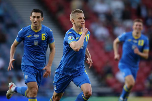 Украина вышла в четвертьфинал Евро-2020, обыграв в овертайме Швецию