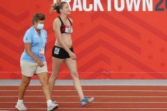 А ну-ка девушки! Глубоко беременная спортсменка приняла участие в отборе в Токио