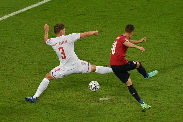 Евро-2020. Чехия - Дания: Шик забил пятый гол на турнире и сократил отставание чехов