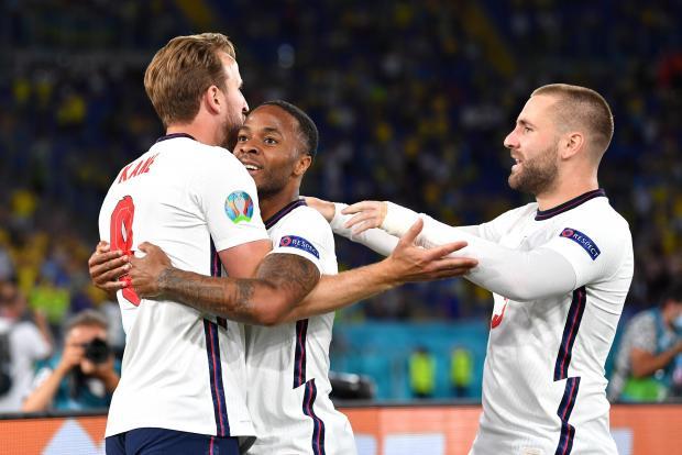 Евро-2020. Англия обыгрывает Украину после первого тайма благодаря голу Кейна