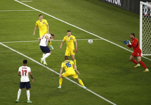 Евро-2020. Сборная Англии разгромила команду Украины и вышла в полуфинал на Данию
