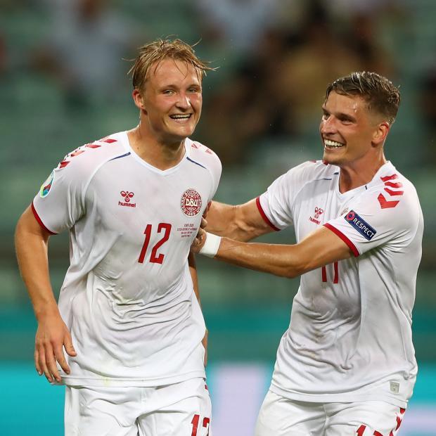 Евро-2020: Сборная Дании обыграла команду Чехии и вышла в полуфинал турнира