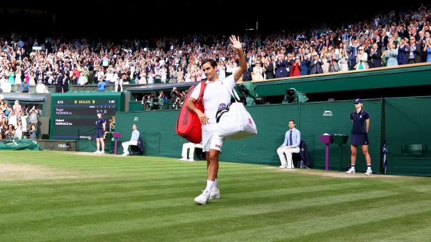 Федерер проиграл Хуркачу в четвертьфинале Уимблдона