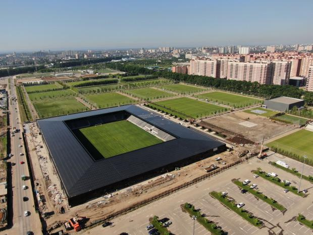 В Краснодаре открывается новый футбольный стадион