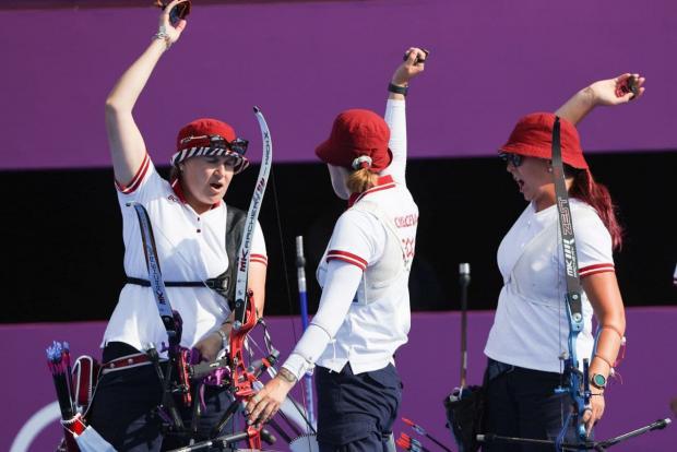 Ремейк Рио-2016: Россиянки вновь выиграли серебро в стрельбе из лука