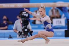 Александр Лесун: Поразили наши гимнастки во время вольных упражнений, как будто гвозди забивали