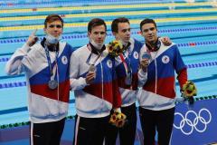 Гордость нации! Россияне стали вторыми в эстафете 4х200 м