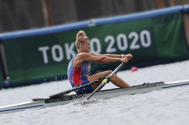 Пракатень выиграла «серебро» в академической гребле на Олимпиаде-2020
