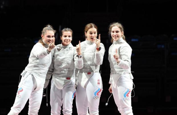Саблистки принесли России золото в командных соревнованиях на второй Олимпиаде подряд