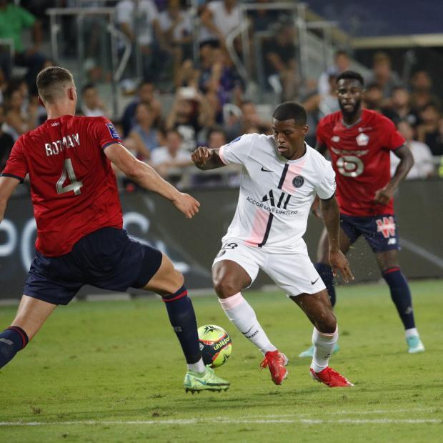 «Лилль» обыграл «ПСЖ» и завоевал Суперкубок Франции