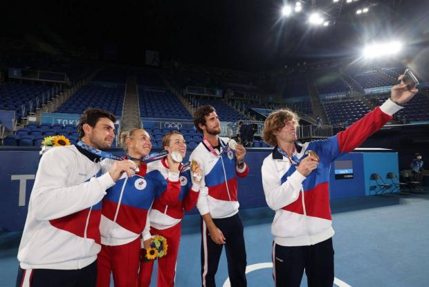 Павлюченкова и Рублев выиграли олимпийский теннисный турнир в миксте