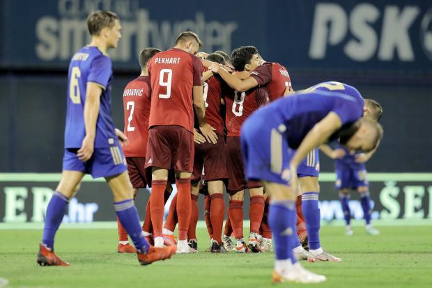 «Легия» ушла от поражения в матче с загребским «Динамо»