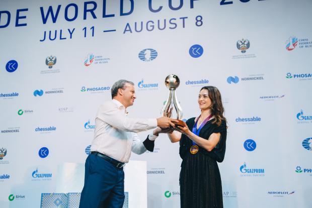 Александра Костенюк: Эта победа была как во сне
