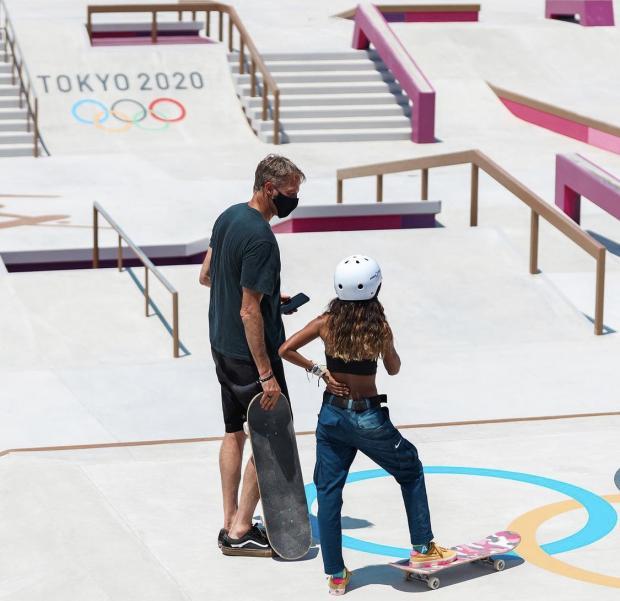 На доске за олимпийскими наградами. Как скейт стартовал на Играх