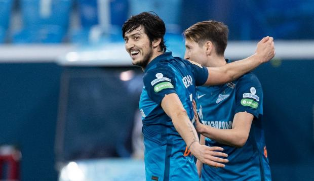 Два гола Азмуна принесли «Зениту» домашнюю победу над «Краснодаром»