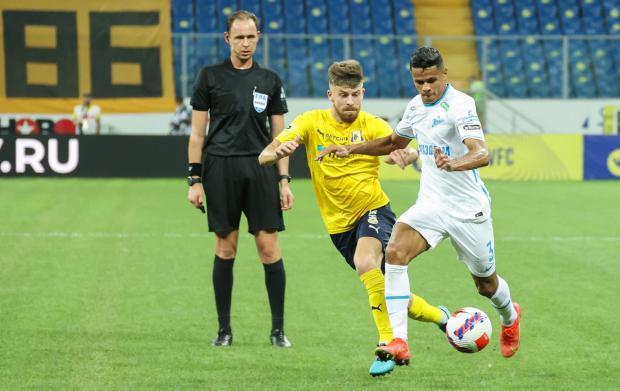 Виталий Мешков совершил две ошибки в пользу «Зенита» в матче против «Ростова»