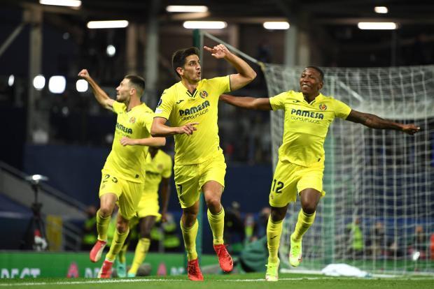 Нападающий «Вильярреала» Морено сравнял счет в игре за Суперкубок УЕФА с «Челси»