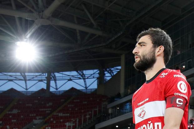Джикия продлил контракт со «Спартаком»