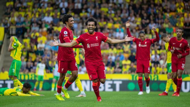 Гол и две передачи Салаха принесли победу «Ливерпулю» в матче с «Норвич Сити»